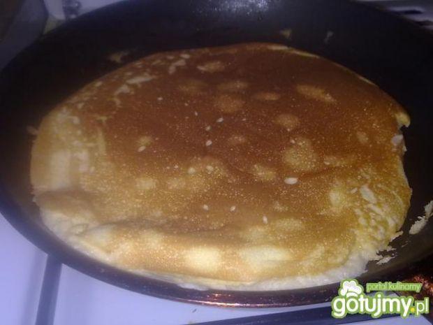 Waniliowy omlet z mandarynkami
