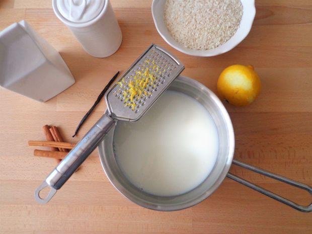Waniliowy ryż na mleku z nutką cynamonu