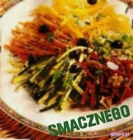 Warzywa gotowane z orzechami