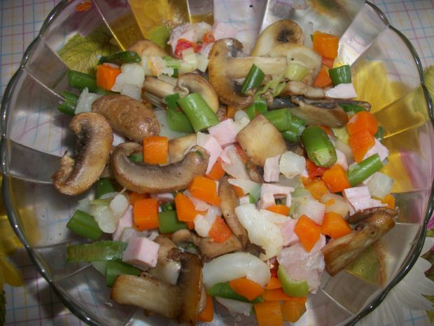 Warzywa w galaretce