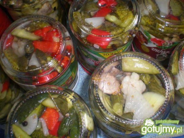 Warzywa w zalewie octowej