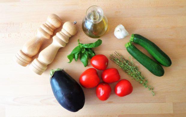Warzywa zapiekane w aromatycznej oliwie