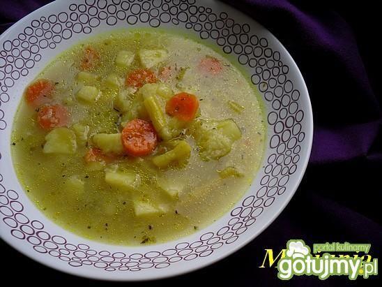 Warzywna zupa na ostro