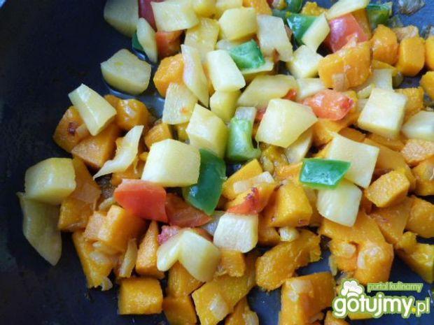 Warzywne leczo z fasolą adzuki