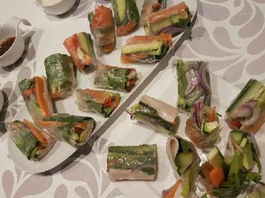 Warzywne Rollsy.