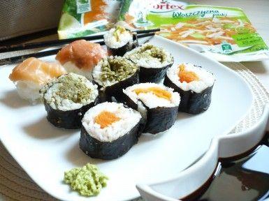 Warzywne szaleństwo z sushi
