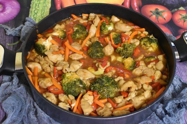 Warzywno mięsna potrawka
