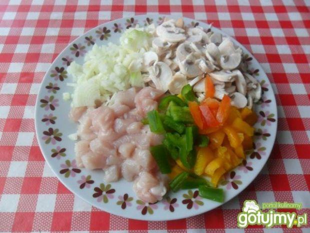 Warzywno mięsne placuszki