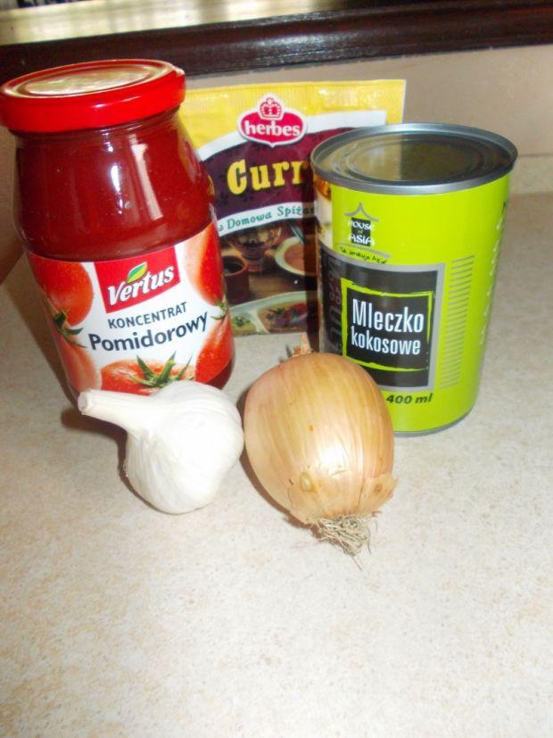 Wegański sos curry