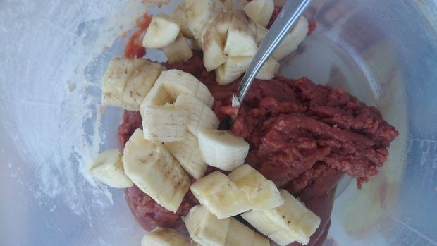 Wegańskie ciastka z syropem daktylowym i bananem