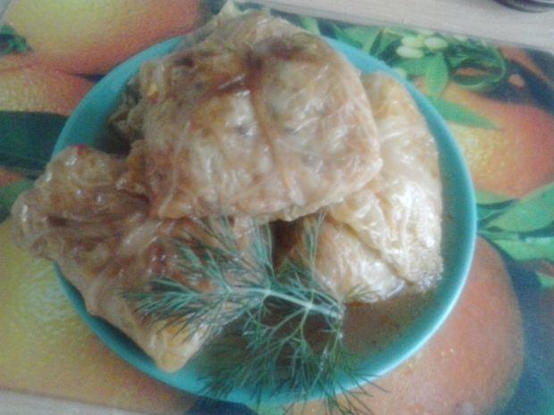 Wegańskie gołąbki z kaszą ryżem i siemieniem