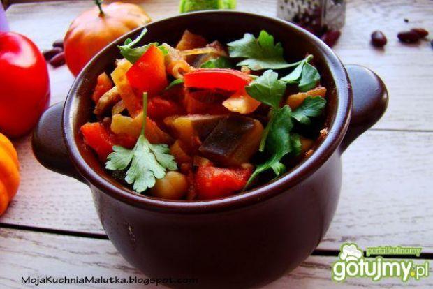 Wegetariańskie chili z cieciorką