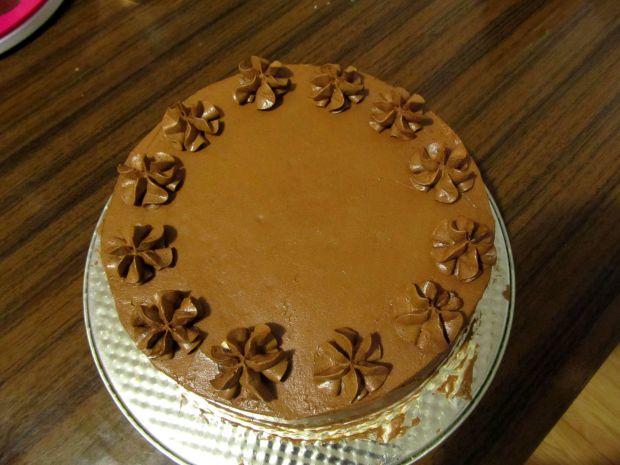 Węgierski tort dobosza