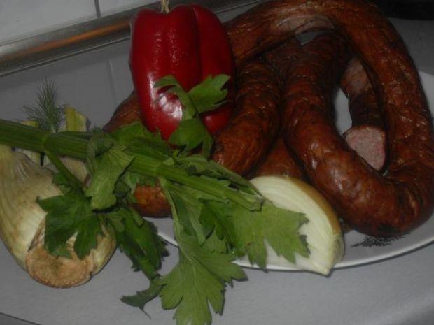 Wiejska kiełbasa   - wieprzowo-wołowa