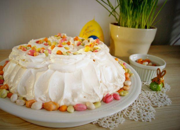 Wielkanocna cytrynowa Pavlova