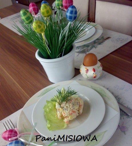Wielkanocna sałatka jarzynowa