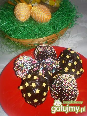 Wielkanocne jajeczka bajaderkowe