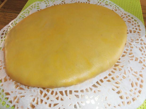 Wielkanocne jajo marcepanowe