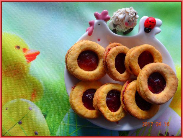 Wielkanocne kocie oczka marchewkowe