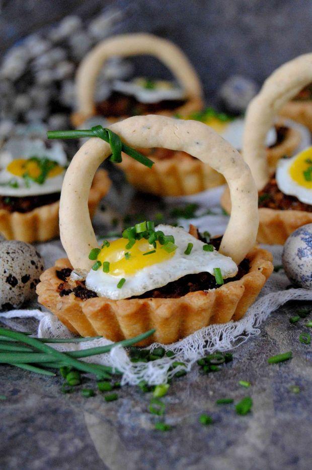 Wielkanocne tartaletki na ciepło