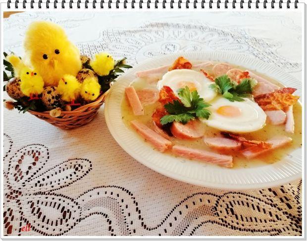 Wielkanocny barszcz biały Eli