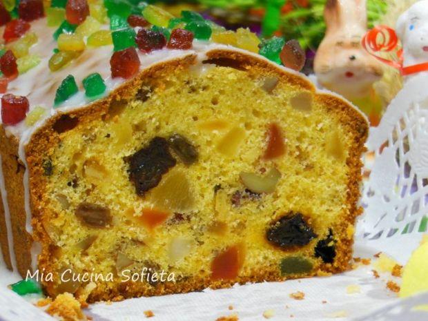 Wielkanocny keks