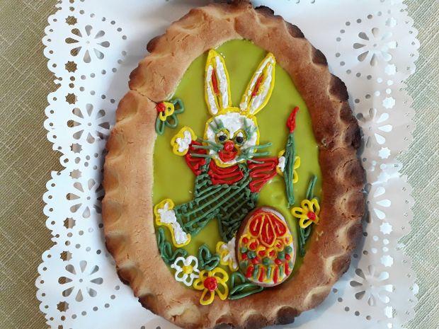 Wielkanocny mazurek z powidłami śliwkowymi