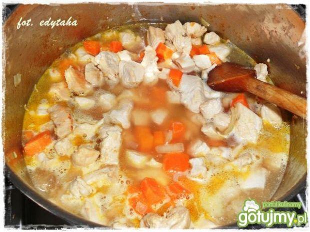 Wielowarzywna potrawka z kurczaka