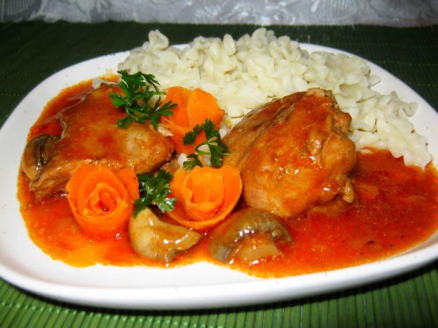 Wieprzowina na pomidorowo