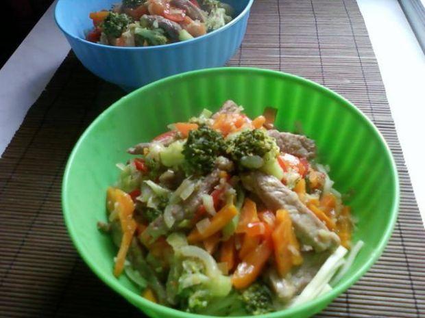 Wieprzowina z warzywami