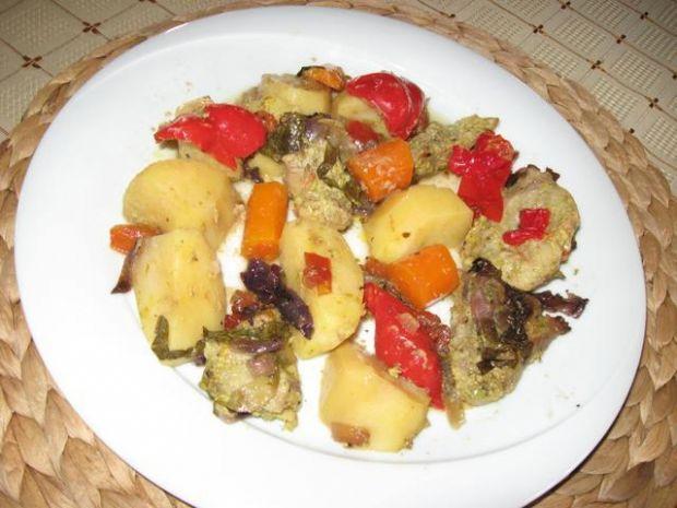 Wieprzowinka z warzywami