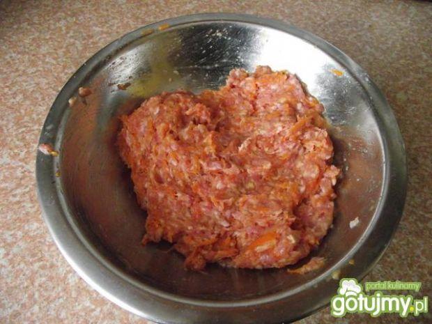 Wieprzowo-marchewkowe kotleciki