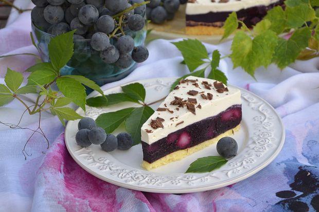 Winogronowa szarlotka