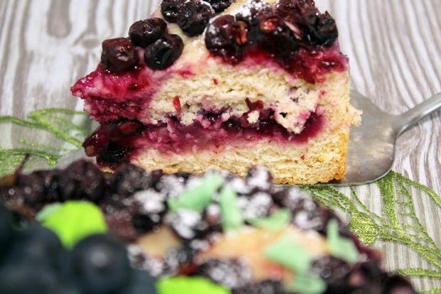 Winogronowe ciasto toskańskie