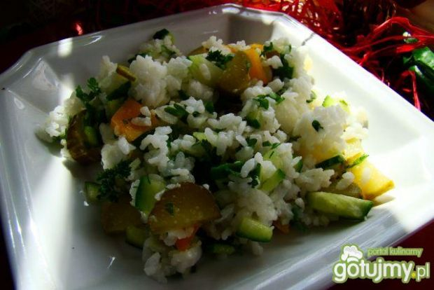 Wiosenna ryżanka -sałatka
