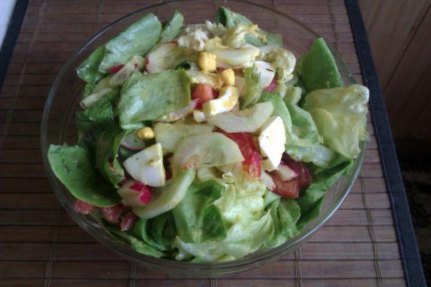 Wiosenna sałatka do obiadu