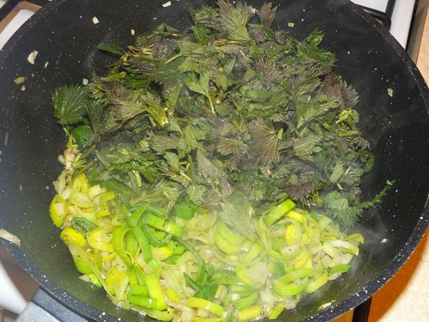Wiosenna zupa krem z młodych pokrzyw