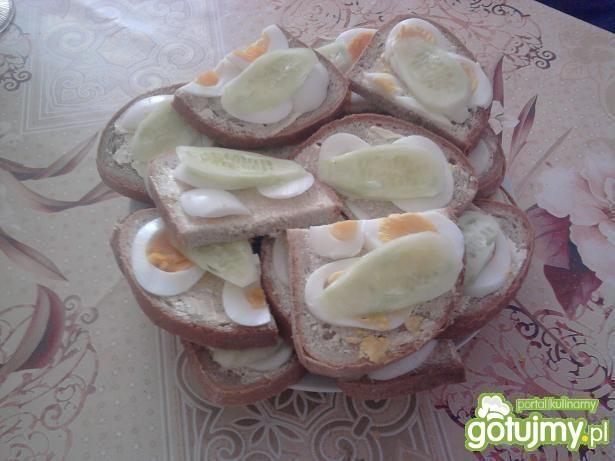 Wiosenne kanapki
