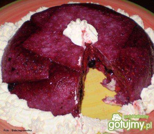 Wiosenny pudding :