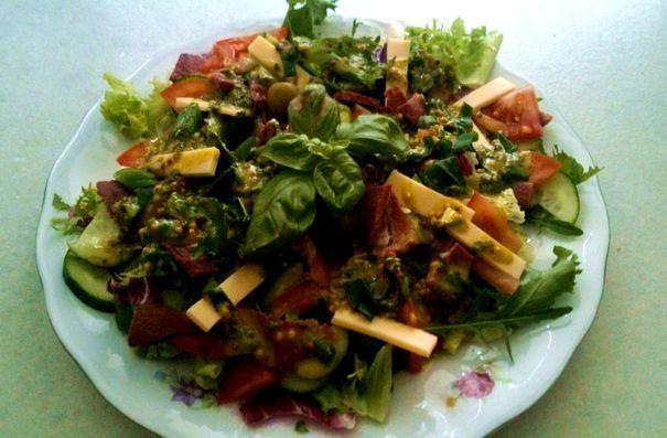 Wiosna na sałatach