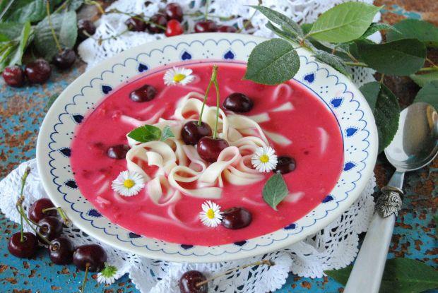 Wiśniowa zupa