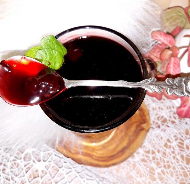 Wiśniowy kisiel domowy