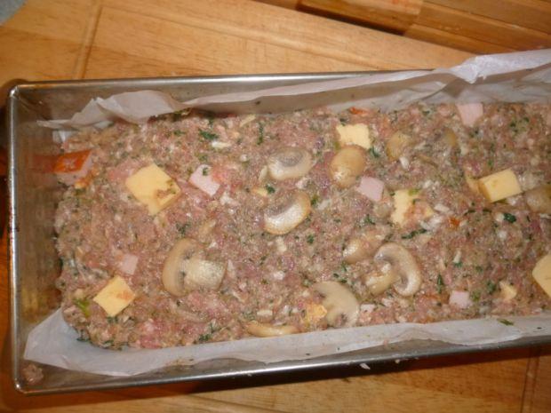 Włoska pieczeń ze szpinakiem
