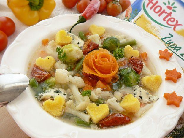 Włoska zupa z polentą