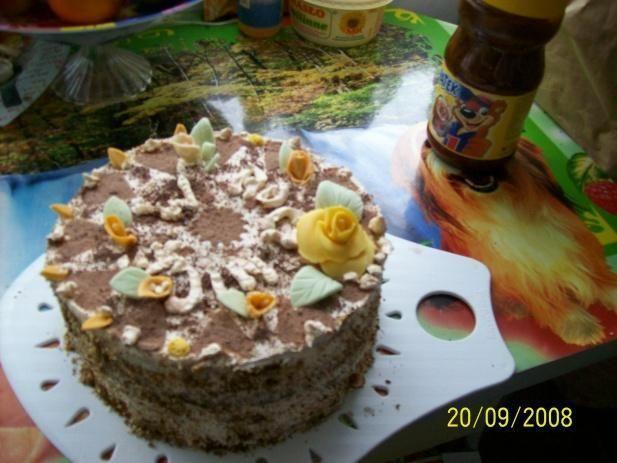 Włoski tort kokosowo-orzechowy