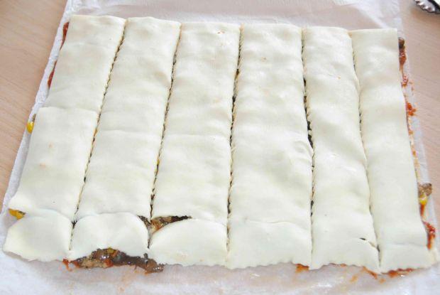 Wołowe świderki z ciasta francuskiego