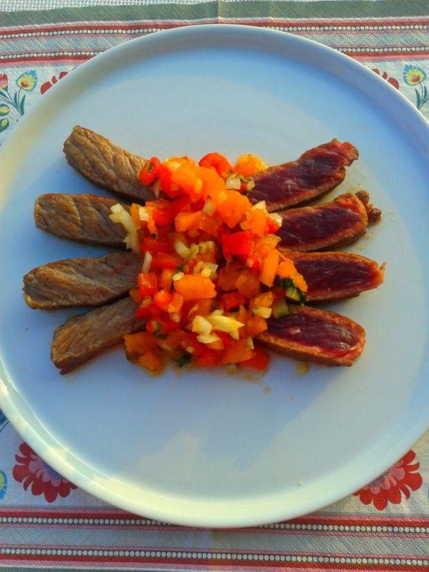 Wołowina z domową harissą