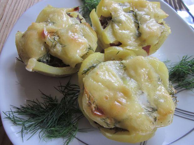 Wytrawne muffinki ziemniaczane