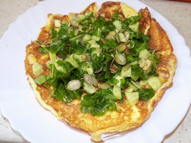 Wytrawny omlet na białkach
