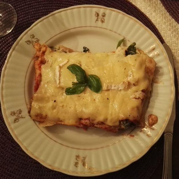 Zapiekane cannelloni w dwóch smakach